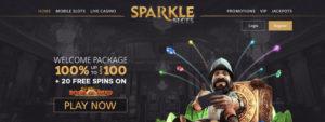 sparkle slots casino